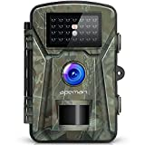 apeman Wildkamera 12MP 1080P mit Infrarot-Nachtsicht bis zu 65 Fu�/20 m IP66 Spray Wasserdicht f�r Outdoor-Natur, Garten, Haussicherheits�berwachung medium image