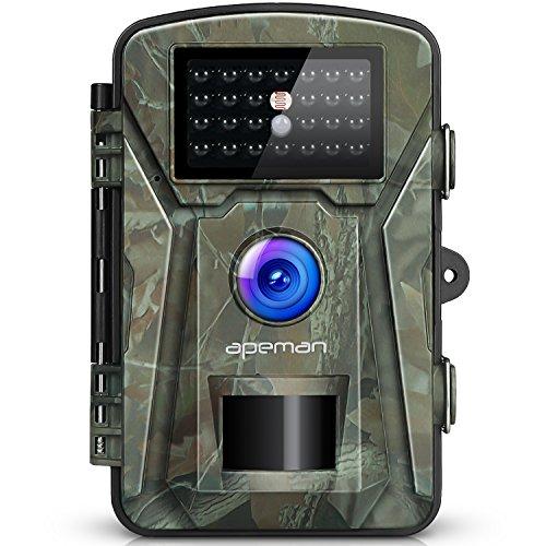 Esta cámara de caza está diseñada para tomar fotos y videos de la vida silvestre, capturando cada movimiento de ellos. Se detectan cambios repentinos a la temperatura ambiente de la vida silvestre y se puede divitirse más. También puede utilizarla co...