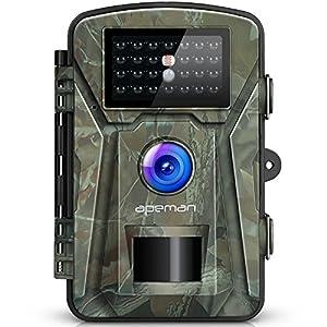 51qgsbSKvlL. SS300 APEMAN Fototrappola 16MP Videocamera 26PCs 940nm IR LEDs Macchine Fotografiche da Caccia Visione notturna 65ft/20m IP66