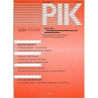 PIK - Praxis der Informationsverarbeitung und Kommunikation