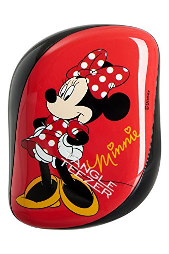 Tangle Teezer Compact Styler Disney Minnie Mouse Rosy Red