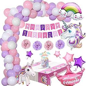 Decoracion Cumpleaños Unicornio, Decoración Fiesta