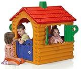 Spielhaus mit Falttüren und Fernstern für Kinder ab 2 Jahren The Hut