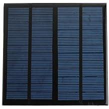 Bluelover 12V 3W Policristalino 145 X 145 Panel Solar Fotovoltaico Panel