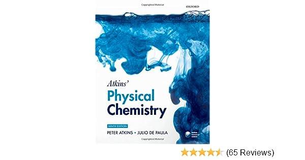 Atkins physical chemistry amazon peter atkins julio de atkins physical chemistry amazon peter atkins julio de paula 9780199543373 books fandeluxe Choice Image
