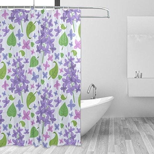 CUMIMI Badezimmer Umweltfreundlich Kaktus Topfpflanzen Wasserdicht Polyester Duschvorhang Home Decor 152,4x 182,9cm, 8, 60x72