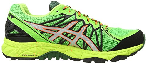 Asics Gel-Fujitrabuco 3 G-TX, Scarpe sportive, Uomo Flash Green/Silver/Flash Yellow 8593