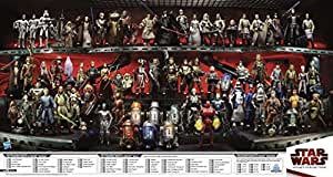 Legacy Collection Star Wars Clone Wars/Hasbro Figurine-Double face Promo Poster 40 X 30 cm