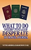 What to Do When You Are Desperate To Travel Oversea (English Edition)