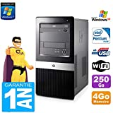 PC HP Compaq dx2420 MT Intel E5300 RAM 4Go Disque Dur 250Go WiFi Windows XP Pro