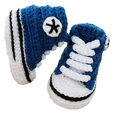 Stivaletti sneaker scarpe bambino uomo Converse LANA (autunno, inverno) a mano di alta qualità. (0-3 mesi)