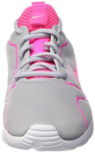 Nike Wmns Kaishi 2.0 Scarpe da Ginnastica, Donna Multicolore (Wolf Grau/ Pink Blast-weiß)