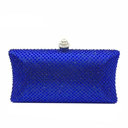 Damen Abendtasche Bankett Beutel Diamant-Handtasche A