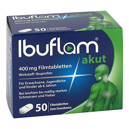 Ibuflam akut 400 mg, 50 St. Filmtabletten