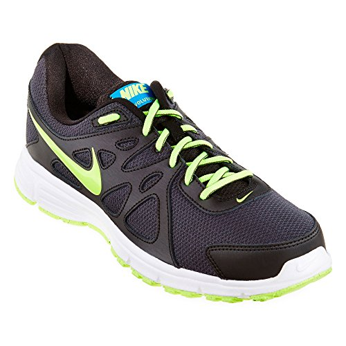 Aria diamante Trainer largo scarpe da basket Anthracite Volt/Black/White