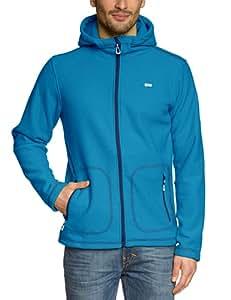 2117 of Sweden Herren Fleecejacke mit kapuze Mens 3D Hood Urberget, Blue, S, 7813924