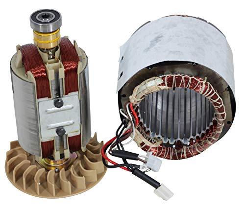Spule für Stromerzeuger 13 PS 1-Phasen Strom Generator Stator Rotor