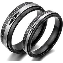 Freundschaftsringe silber schwarz  Suchergebnis auf Amazon.de für: Verlobungsringe Schwarz