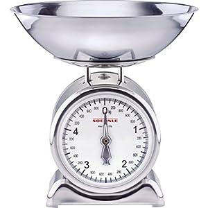Soehnle Küchenwaage Silvia mechanisch silber (Silber, Metall)