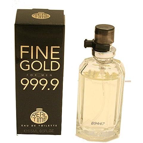 Cosmetic Line-Eau de toilette scoperta 15 ml, gamma-Fine Gold Men,