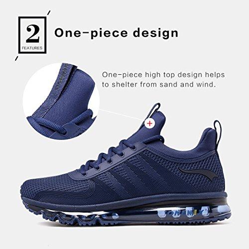 ONEMIX Scarpe da corsa da uomo leggere sneaker Athletic Air Casual Fitness Blu scuro