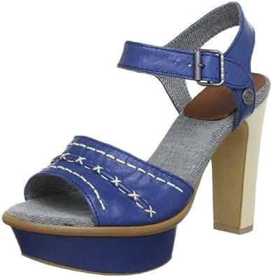 Hilfiger Denim HOLLY 2 EN56815245, Damen Sandalen, Blau (ENSIGN BLUE 425), EU 37