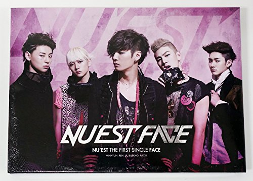 Pledis Entertainment NU'EST NUEST - Face (1st Single Album) CD+Photobook+Photocard - Face Album