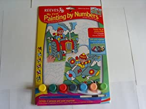 Reeves - Juguete de pintura por números