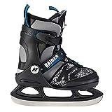 K2 Skate Jungen Raider Ice Schlittschuhe, Schwarz/Grau