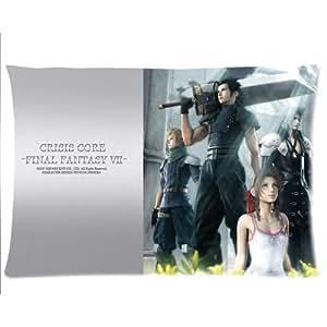 Final Fantasy Core Taie d'oreiller taies d'oreiller sur mesure Housse de coussin 50,8x 76,2cm deux côtés