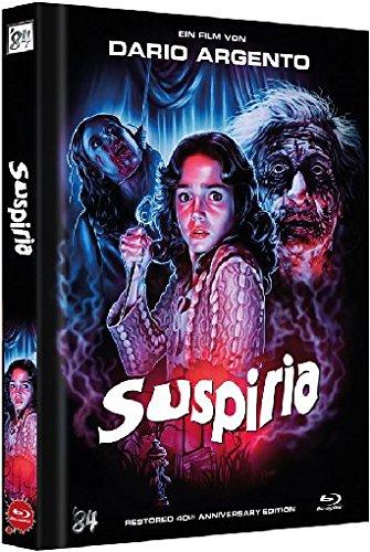 Bild von Suspiria - Uncut / 40th Anniversary Edition - Mediabook [Blu-ray]