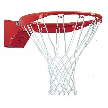 Sure Shot Basketball Aro de baloncesto color rojo blanco