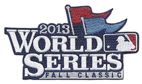 2013 MLB Baseball World Series Logo Official Jersey Sleeve Patch by Patch Collection