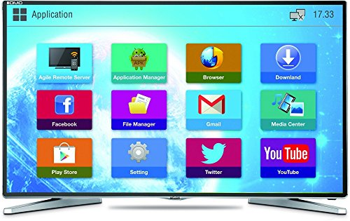 Mitashi MiDE050v02-FS 127cm (50 inches) Smart Full HD LED TV (Black) with Free Air Mouse and 3 Years Warranty