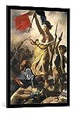 Bild mit Bilder-Rahmen: Eugène Delacroix
