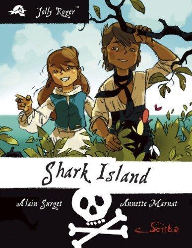 Portada del libro Jolly Roger Book Three: Shark Island by Alain Surget (1-Nov-2010) Paperback