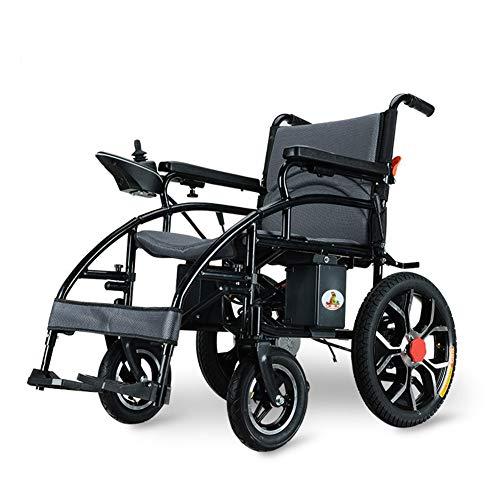Elektrische Rollstuhlfalte Faltbare Elektro-Rollstühle, High Power Dual Motor, NEW mit mehr (99 lbs inluding Lithium-Batterie)