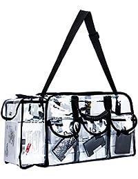 3d6e2d3f9 LUVODI Bolsas de Transparente Neceser PVC Impermeable Estuche de Viaje de  Belleza Mujer Bolso de Cosmético