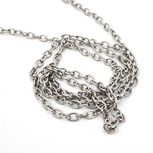 YanRun, Borsa a zainetto donna multicolore argento argento