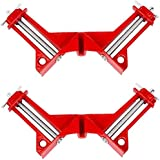 Cute Critters 90 Degree Right Angle Clip Fixed Corner Clamp Multifunction Hand Tool for DIY Fishtank Woodworking Picture Fram