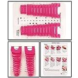 CkeyiN ®2 * 26 pcs Frauen Maniküre Werkzeug Wiederverwendbare Nagel Gel Modell Clip Nagellack Kleber Werkzeug
