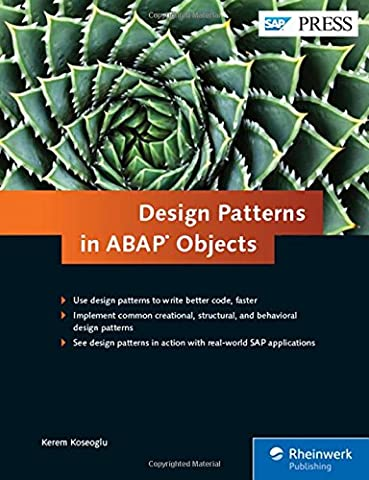 Design Patterns in ABAP Objects (SAP PRESS: