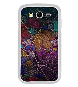 Colourful Leaf Pattern 2D Hard Polycarbonate Designer Back Case Cover for Samsung Galaxy Grand 2 :: Samsung Galaxy Grand 2 G7105 :: Samsung Galaxy Grand 2 G7102