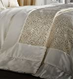 Catherine Lansfield Luxor Jacquard Gold-Tagesdecke