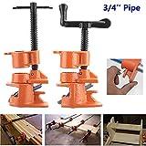 Majome 1/2 3 / 4inch Pegar Tubo de Madera Conjunto de Herramientas Cast Iron Heavy Duty Carpintero Herramienta