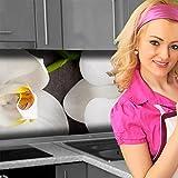 Küchenrückwand < Orchideen Zweig > Premium Hart-PVC 0,4 mm selbstklebend 280x51cm