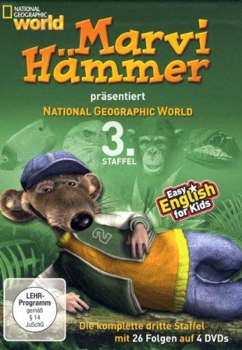 Preisvergleich Produktbild Marvi Hämmer präsentiert: National Geographic World, 3. Staffel [4 DVDs]