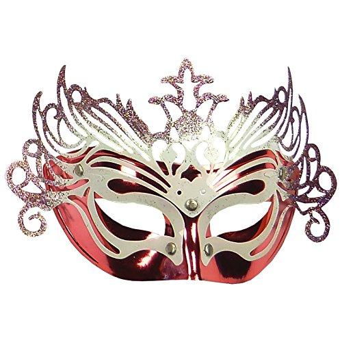 Venezianische Augen Maske - Mask - Fasching Karneval Sylvester Kostüm Party - Variante: Nummer 17 (Kostüm Xvii)