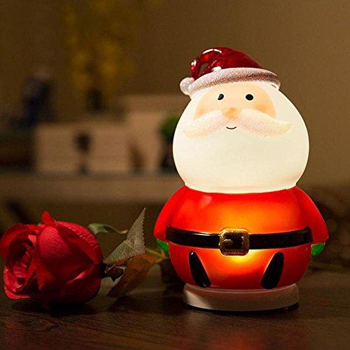LED Nachtlicht Baby Lichter, AOKARLIA Weihnachtsmann Nachttischlampe, Schlafzimmer / Nachttisch Beleuchtung