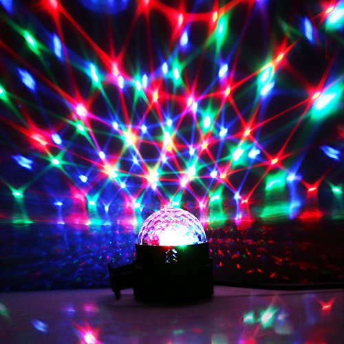 disco lights disco ball lights upgraded 4 colours rgbp party lights